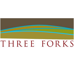 Three Forks Logo Design & Branding